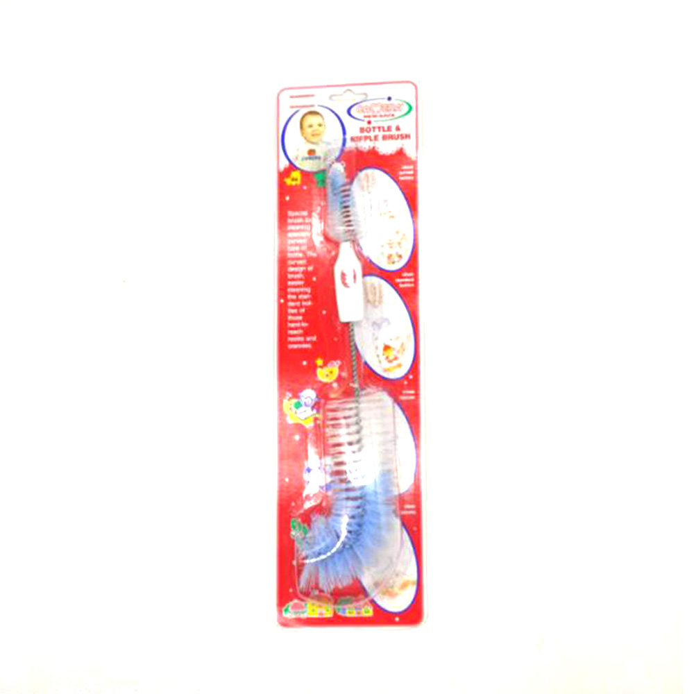 Camera Bottle & Nipple Brushes Clean Curved Bottles 10088