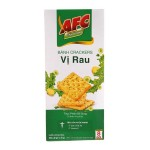 AFC Dinh Duong Crunchy Crackers Vegetable 8's 200g