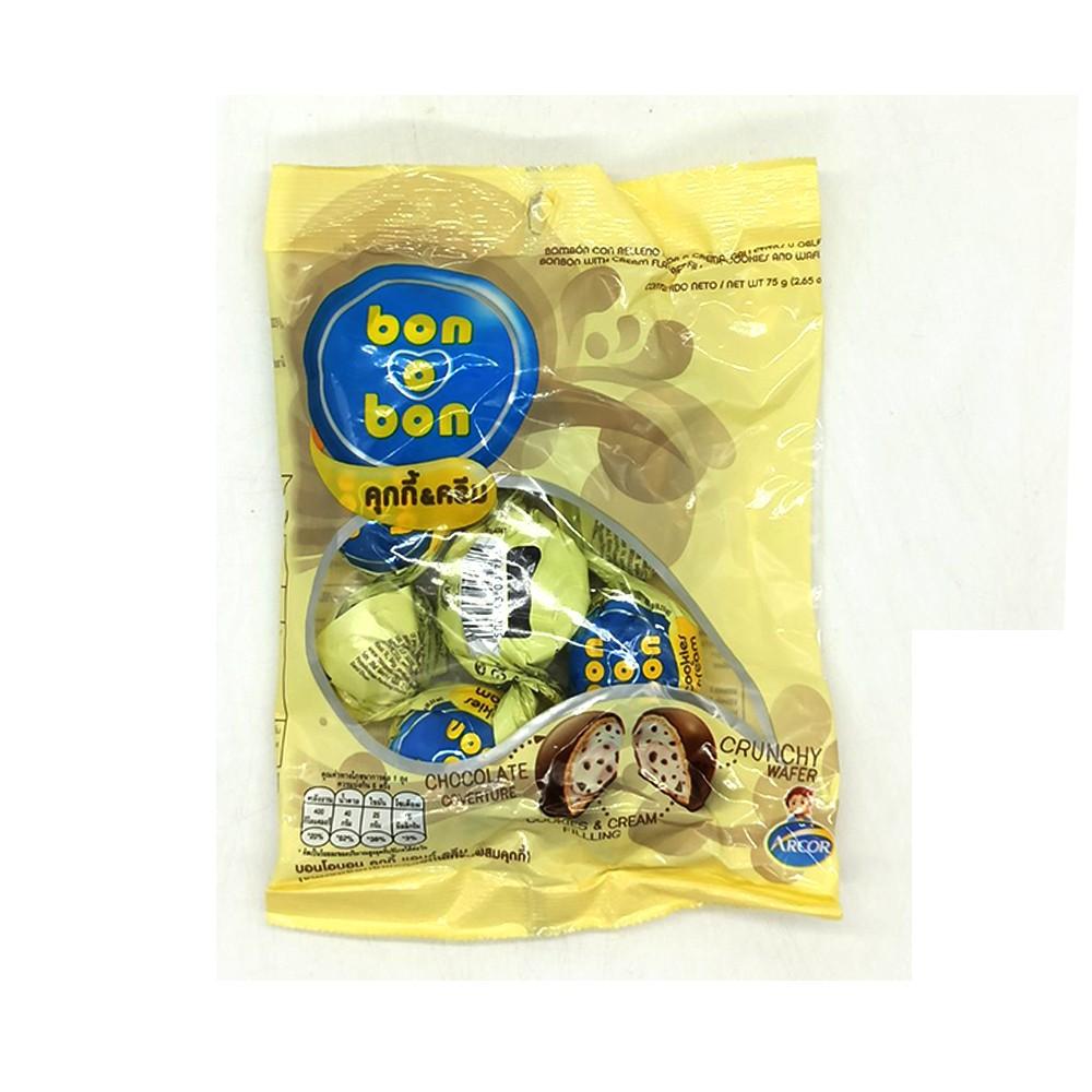Bon O Bon Cookies & Cream 5's 75g