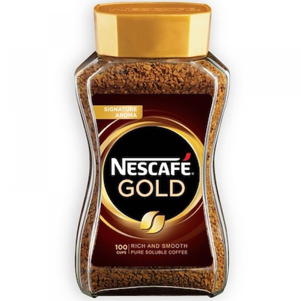 Nescafe Gold Rich And Smooth Pure Soluble Coffee 200g