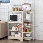 Easy Life Multifuctional Microwave Storage 4 Shelfs