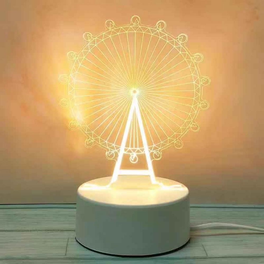 Easy Life LED 3D Creative Visualization Lamp