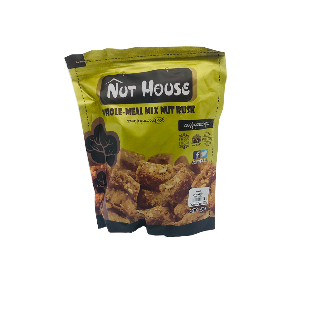 Nut House Whole-Meal Mix Nut Rusk 200g