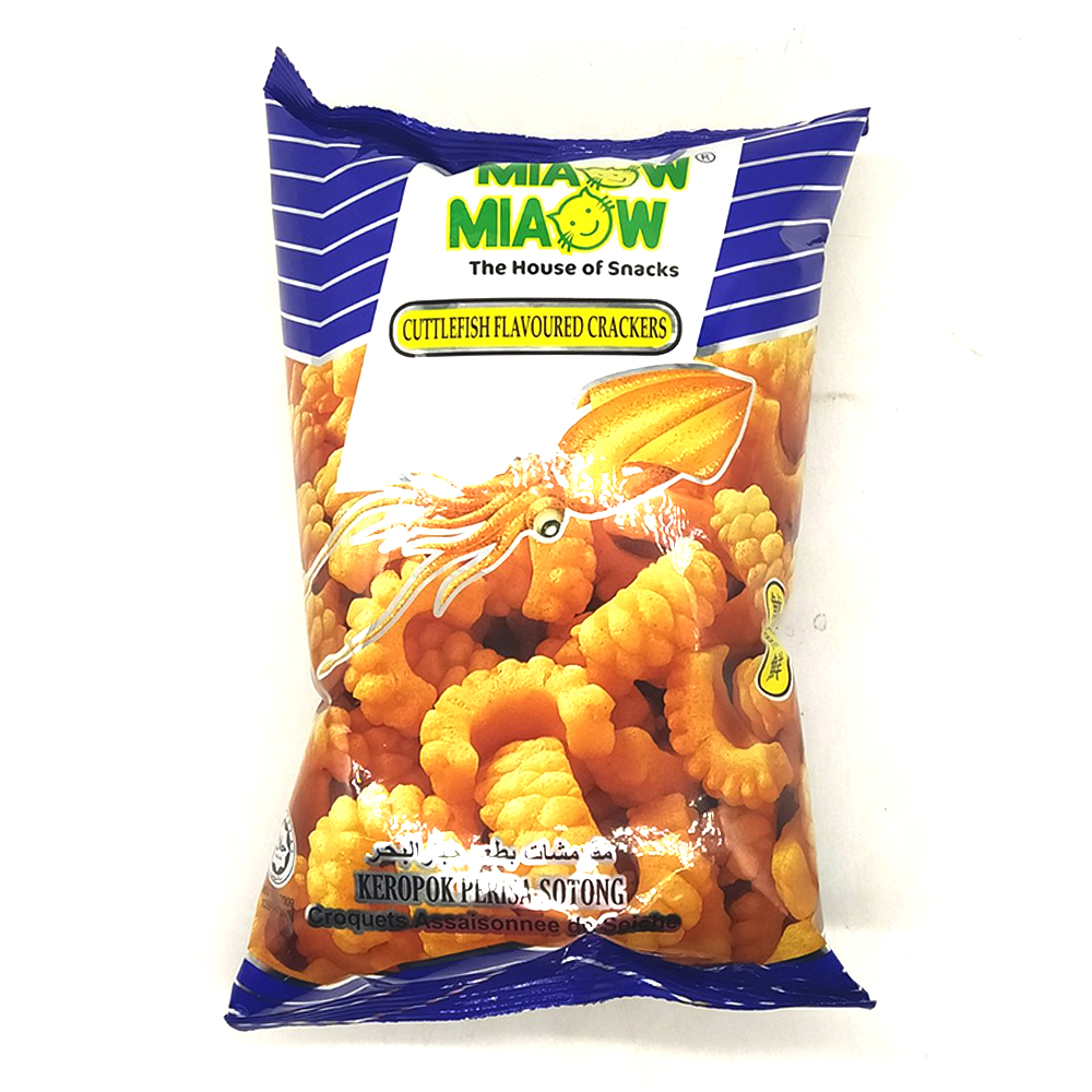 Miaow Miaow Cuttlefish Flavoured Cracker 60g