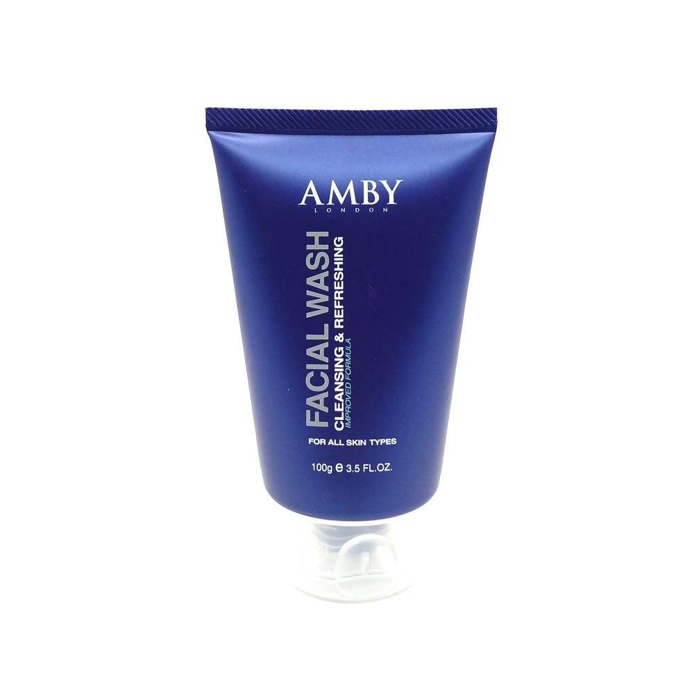 Amby London Facial Wash Cleansing & Refreshing 100g