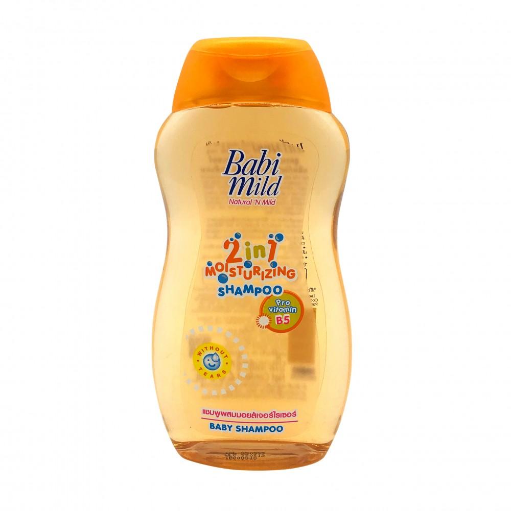 Babi Mild 2 In 1 Moisturizing Baby Shampoo 200ml