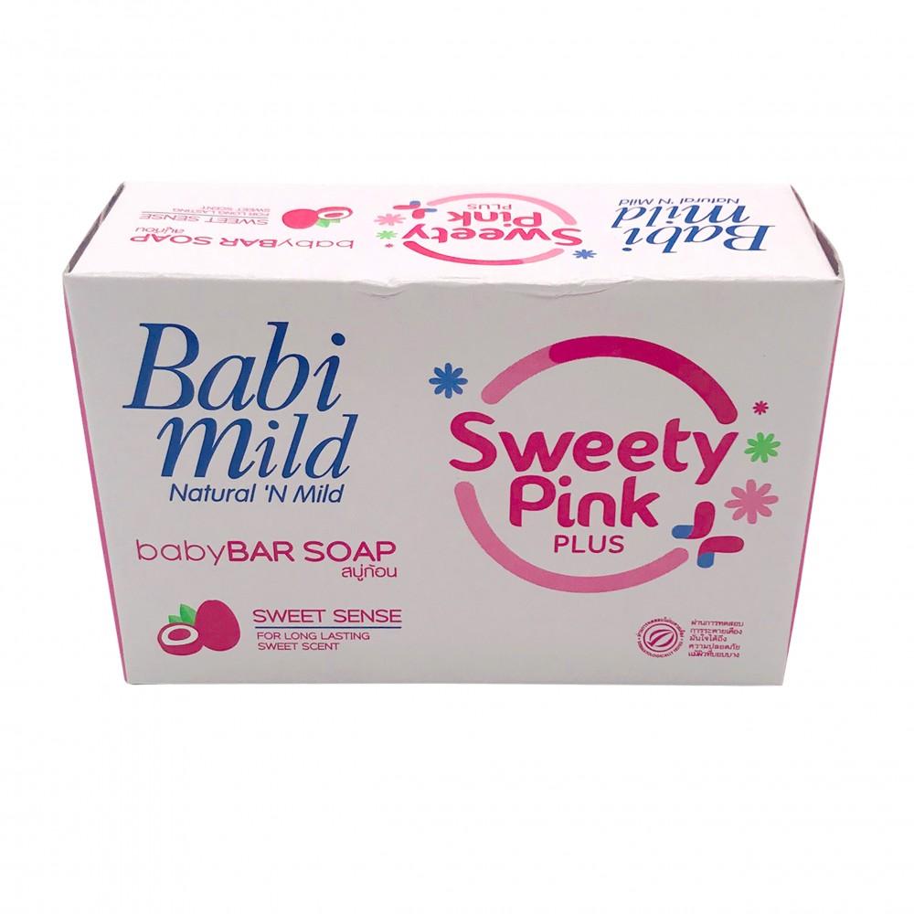 Babi Mild Baby Bar Soap Sweety Pink 75g
