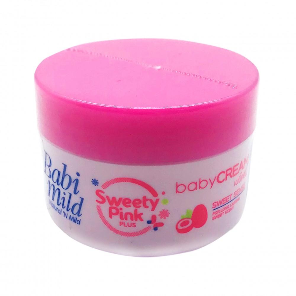 Babi Mild Baby Cream Sweety Pink 50g