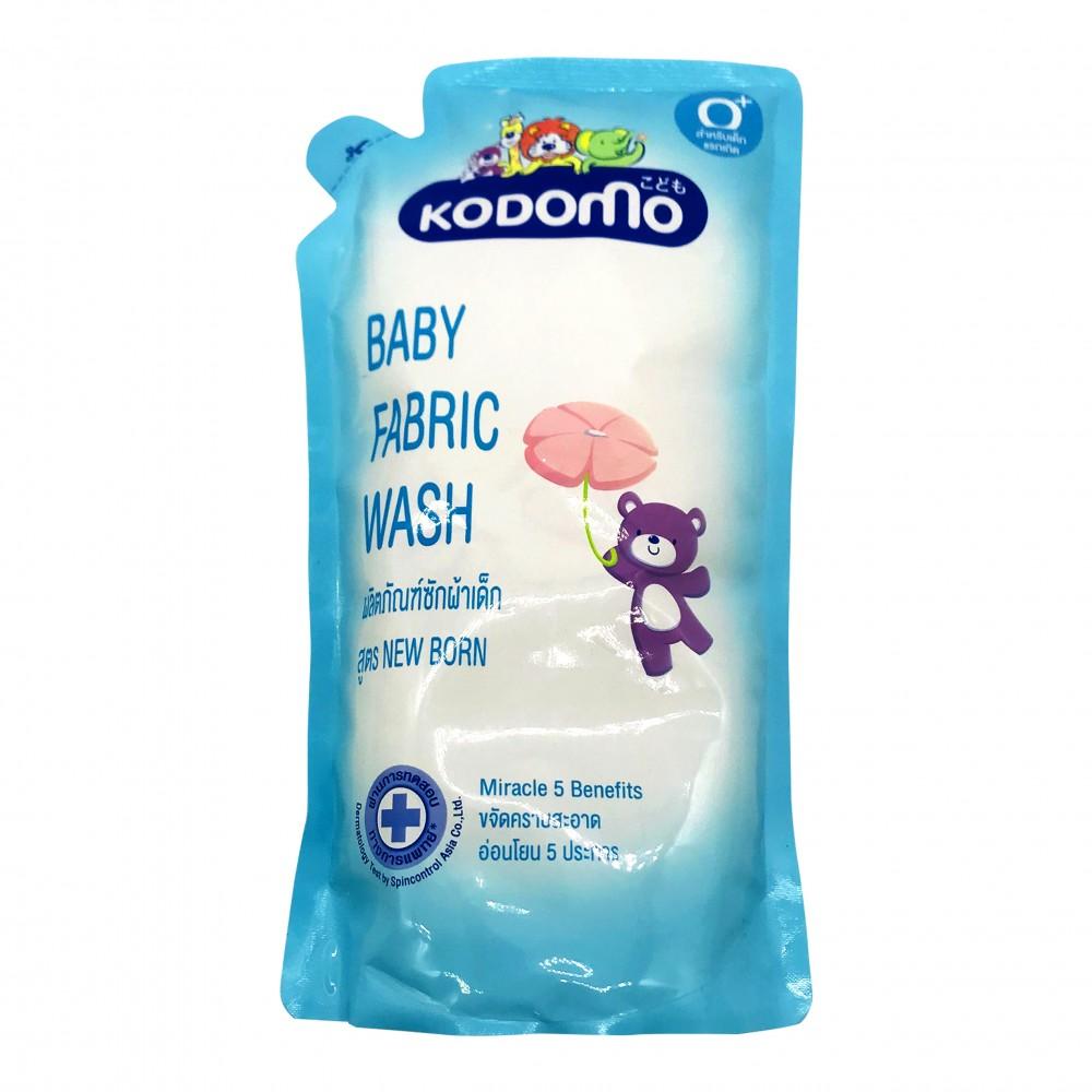 Kodomo Baby Fabric Wash New Born 600ml (Refill)