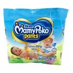 Mamy Poko Diaper Pants Extra Dry Skin 19's Size-S (Boys & Girls)