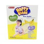 Happy Bites Baby Rice Rusks Banana 50g (6 Months+)