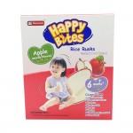 Happy Bites Baby Rice Rusks Apple 50g (6 Months+)
