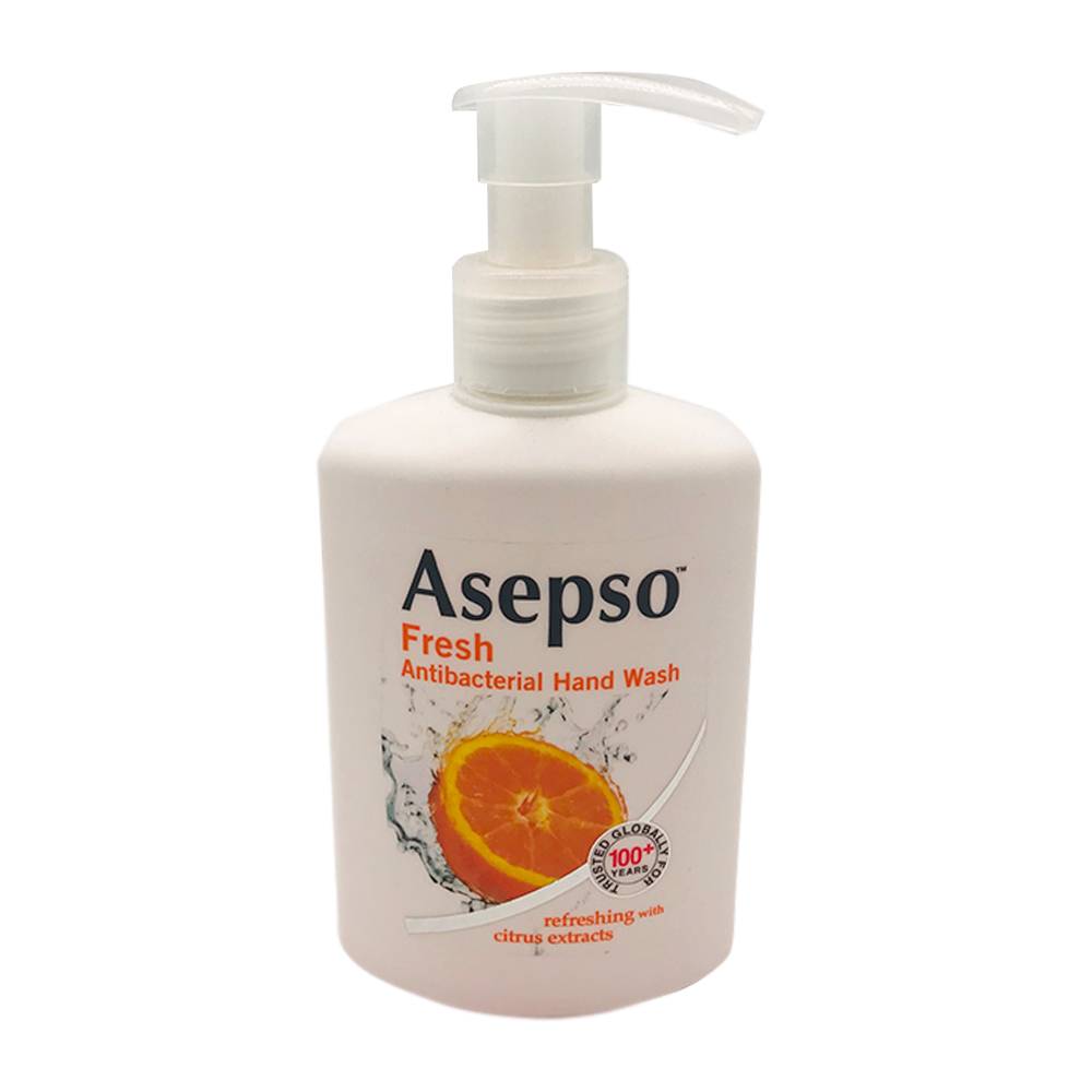 Asepso Antibacterial Hand Wash Fresh 250ml