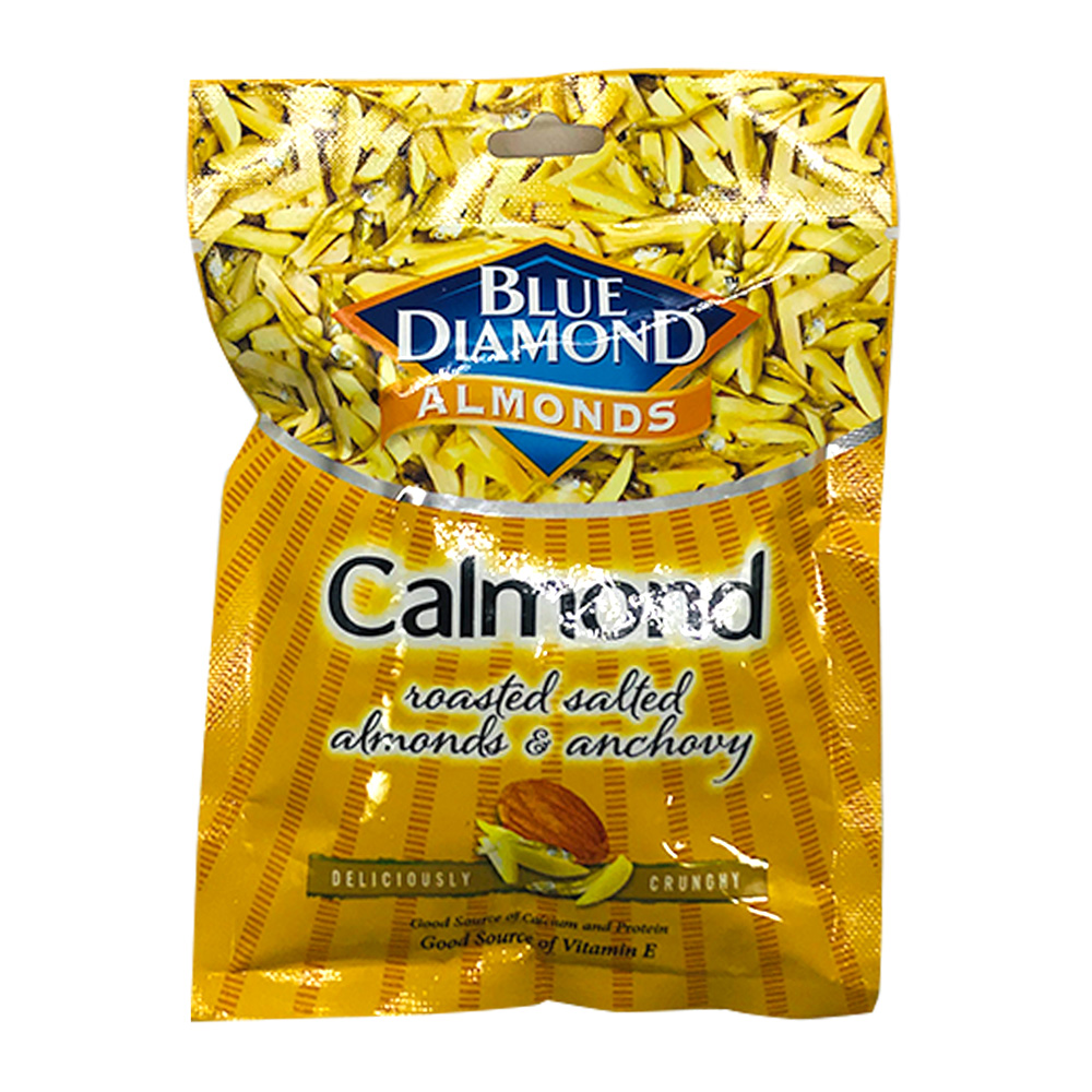 Blue Diamond Almonds Calmond Roasted Salted 25g