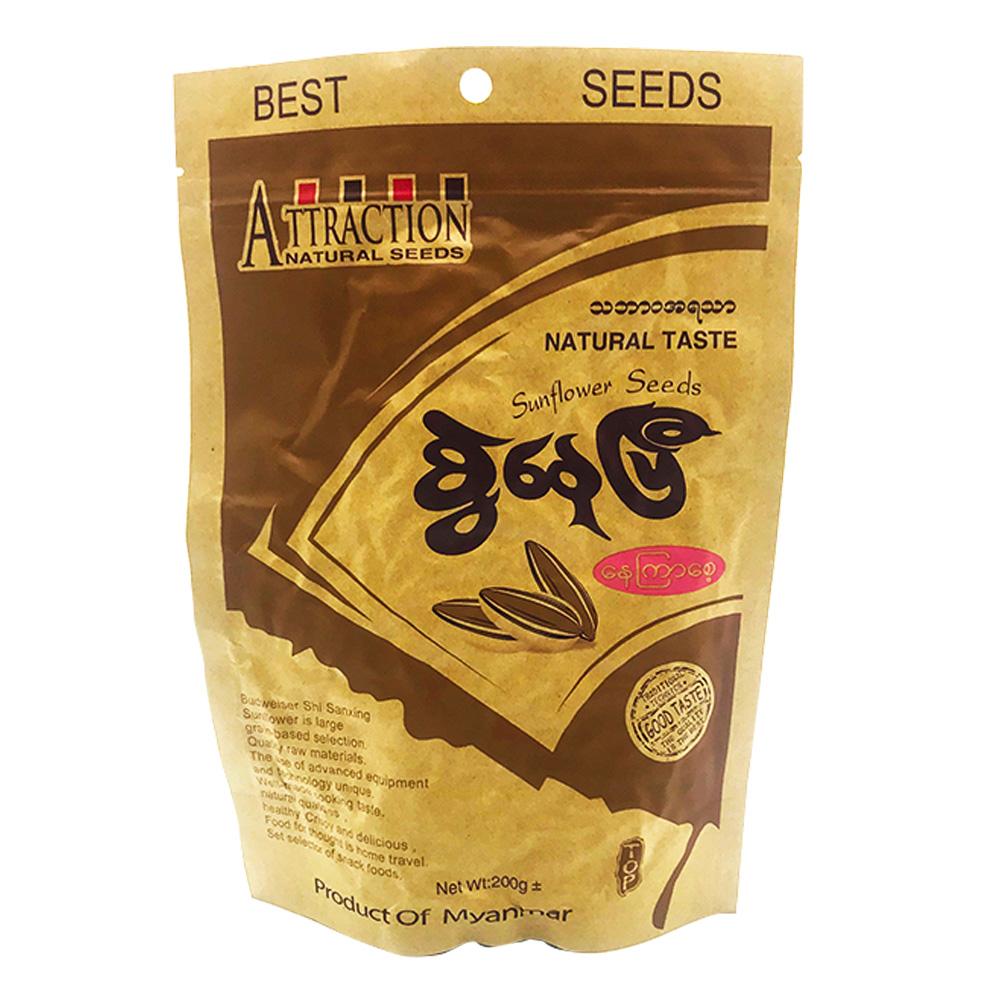 Attraction Sunflower Seeds Natural Taste 200g