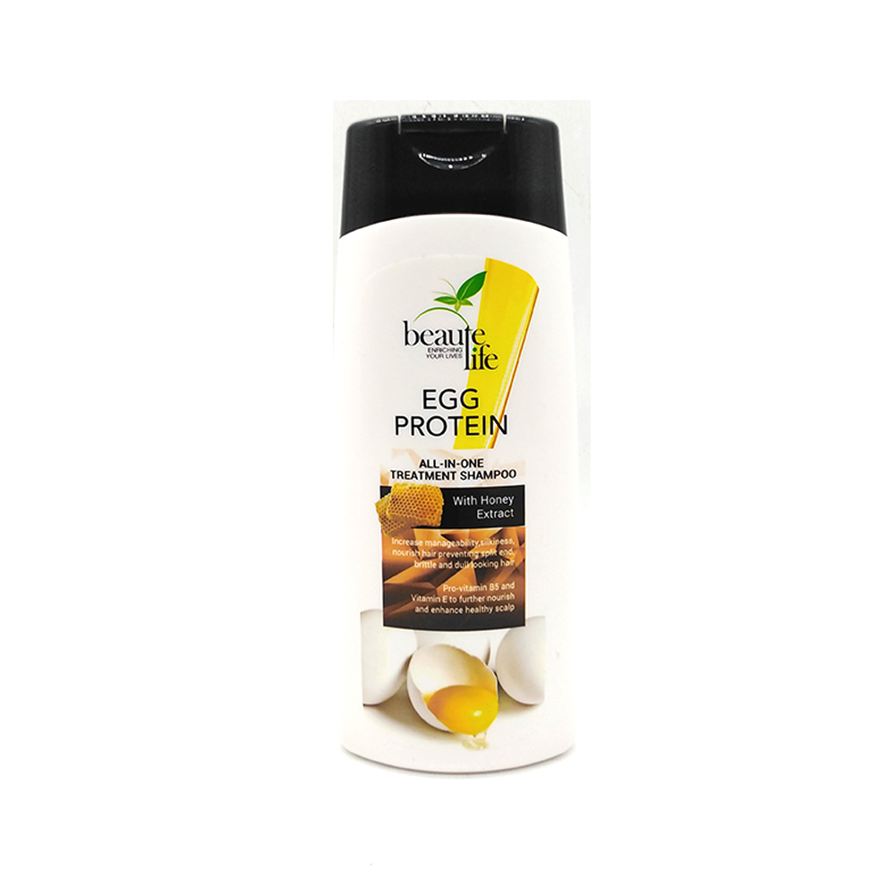 Beaute Life All In One Treatment Shampoo Egg Protein 300ml