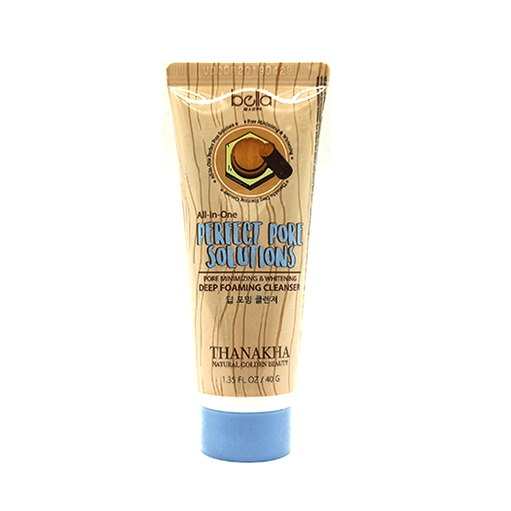 Bella All in One Thanakha Deep Foaming Cleanser 40g
