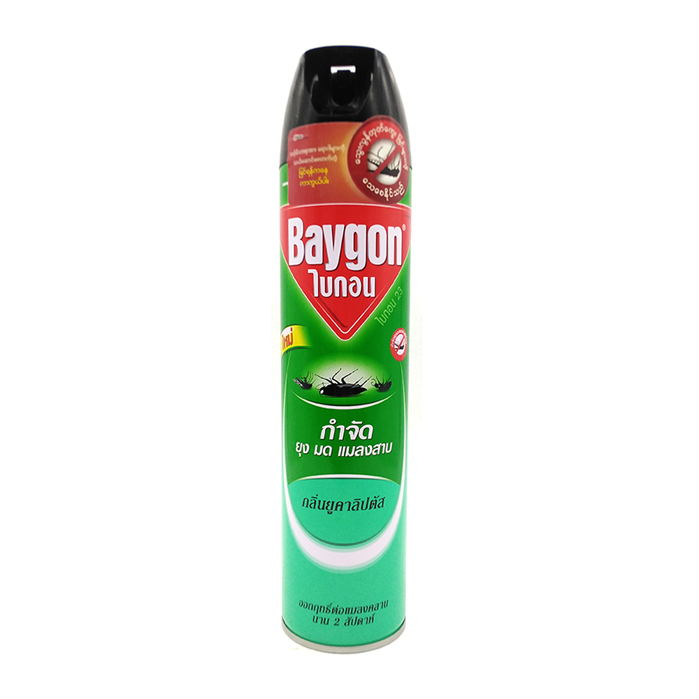 Baygon Insect Killer Spray With Eucalypti 600ml