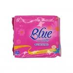 Blue Ultra Somatosensory Sanitary Napkin Dry Net Surface Chamamile Day 10's (Pink)