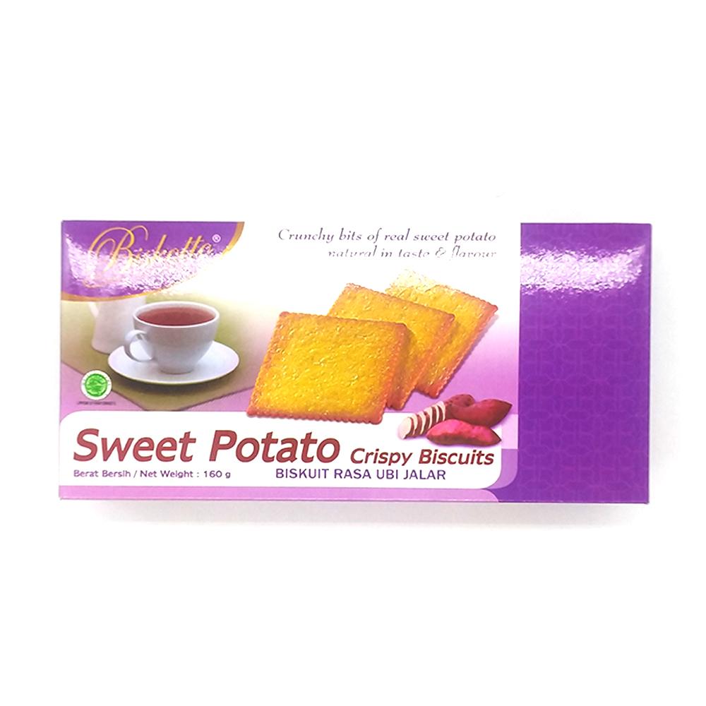 Biskotto Potato Crispy Biscuits 160g