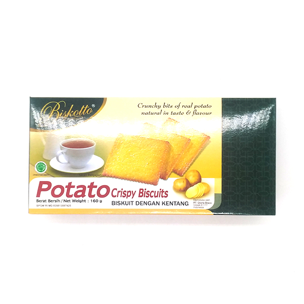 Biskotto Sweet Potato Crispy Biscuits 160g