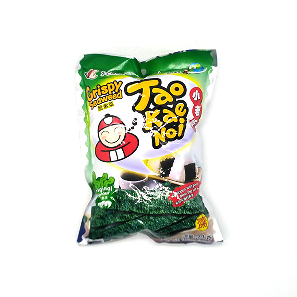 Tao Kae Noi Crispy Seaweed Original 32g