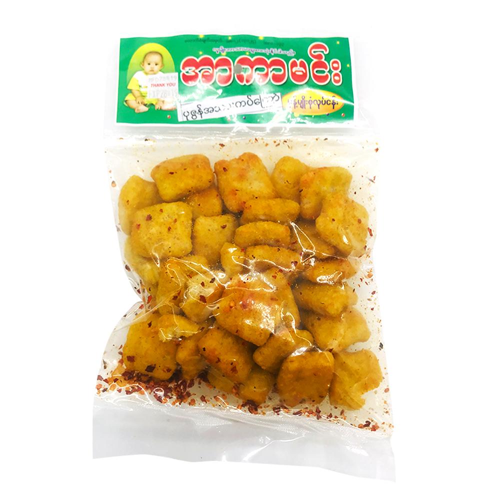 Arkar Min Fried Shrimp Snack With Chilli