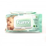 Fluffy Face & Hands Baby Wipes 80's