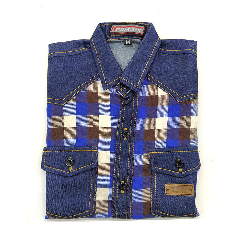 Hermano Children Boy Shirt S/S (Size- S to Xl)