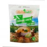 Alphanutri Rice Soup Cabbage Lentil 110g