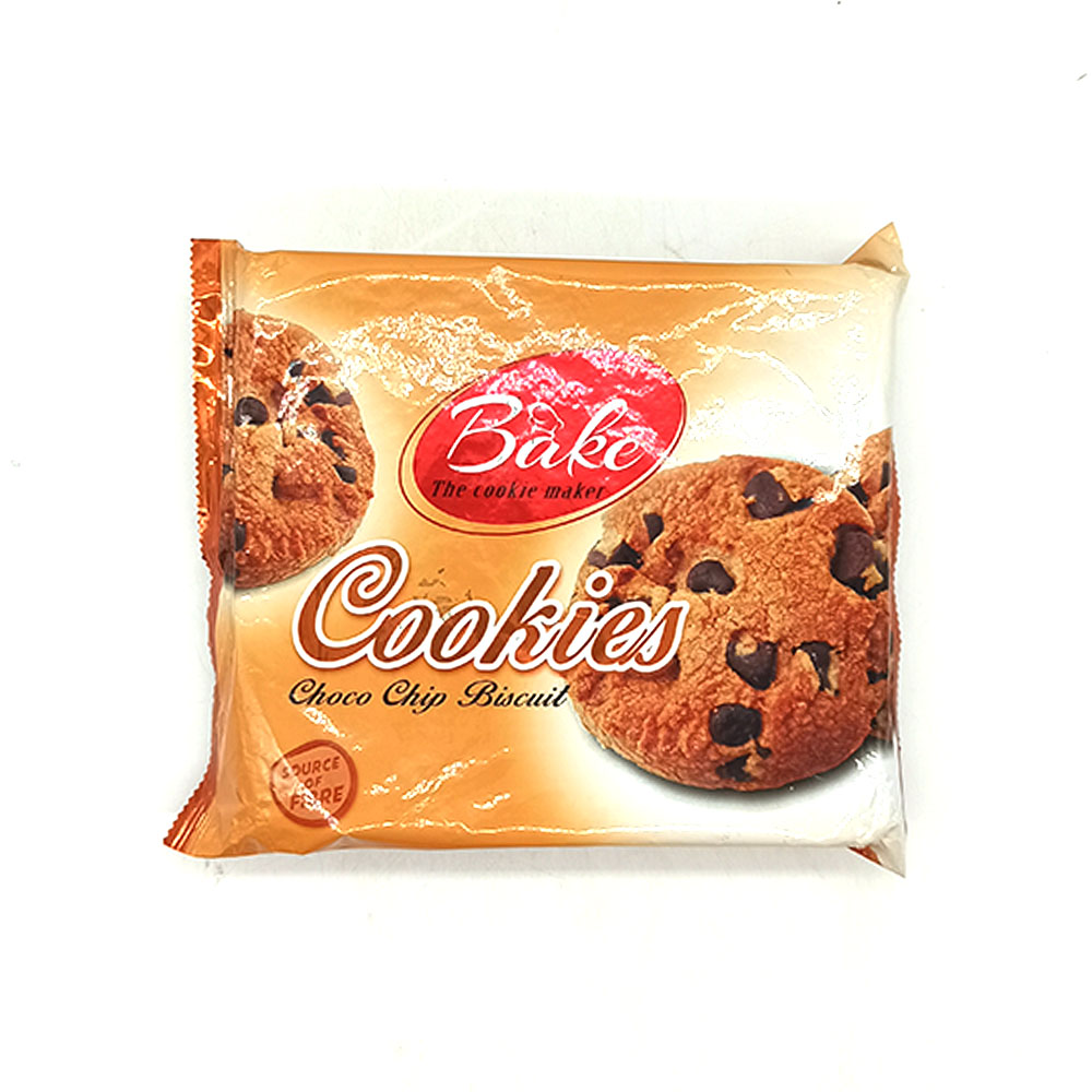 Bake Cookies Choco Chip Biscuit Source Of Fibre 295g