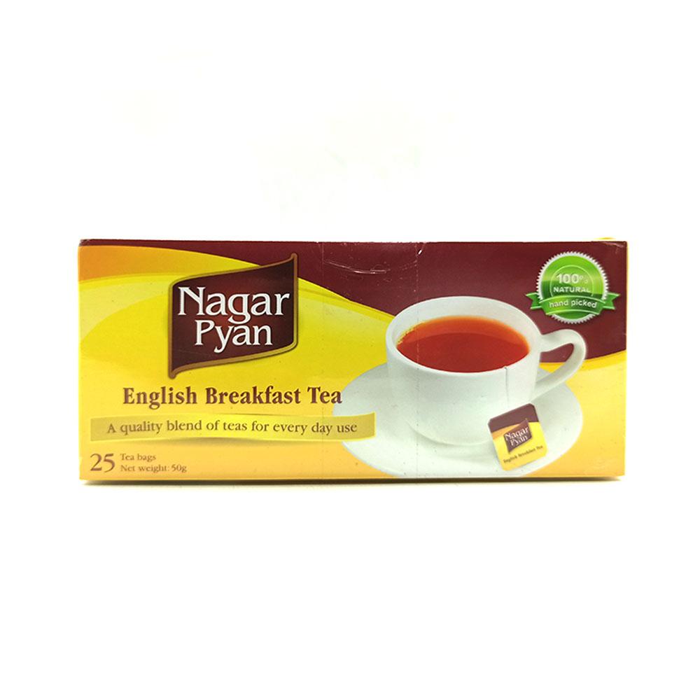 Nagar Pyan Finest Myanmar Tea 25's 50g