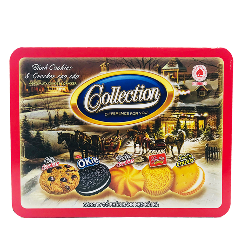 Collection Banh Cookies 650g (Tin)