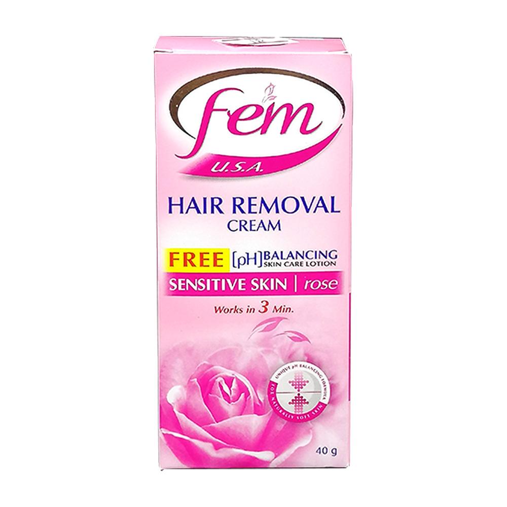 Fem Hair Removal Cream Sensitive Skin 40g