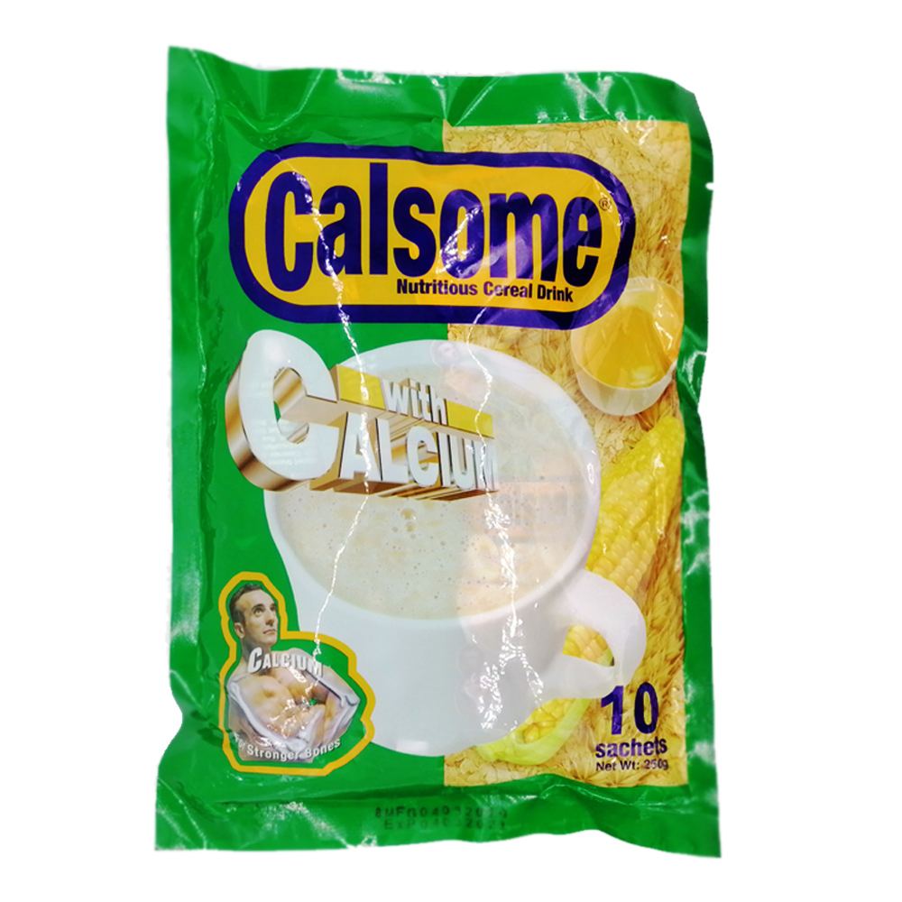 Calsome Instant Nutritious Cereal Drink 10's 250g