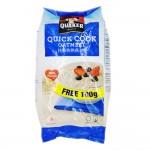 Quacker Quick Cooking Oatmeal Wholegrain 900g (Blue)