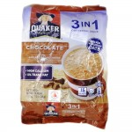 Quaker 3 in 1 Oat Cereal Drink Chocolate 15's 420g