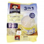 Quaker 3 in 1 Oat Cereal Drink Vanilla 15's 420g