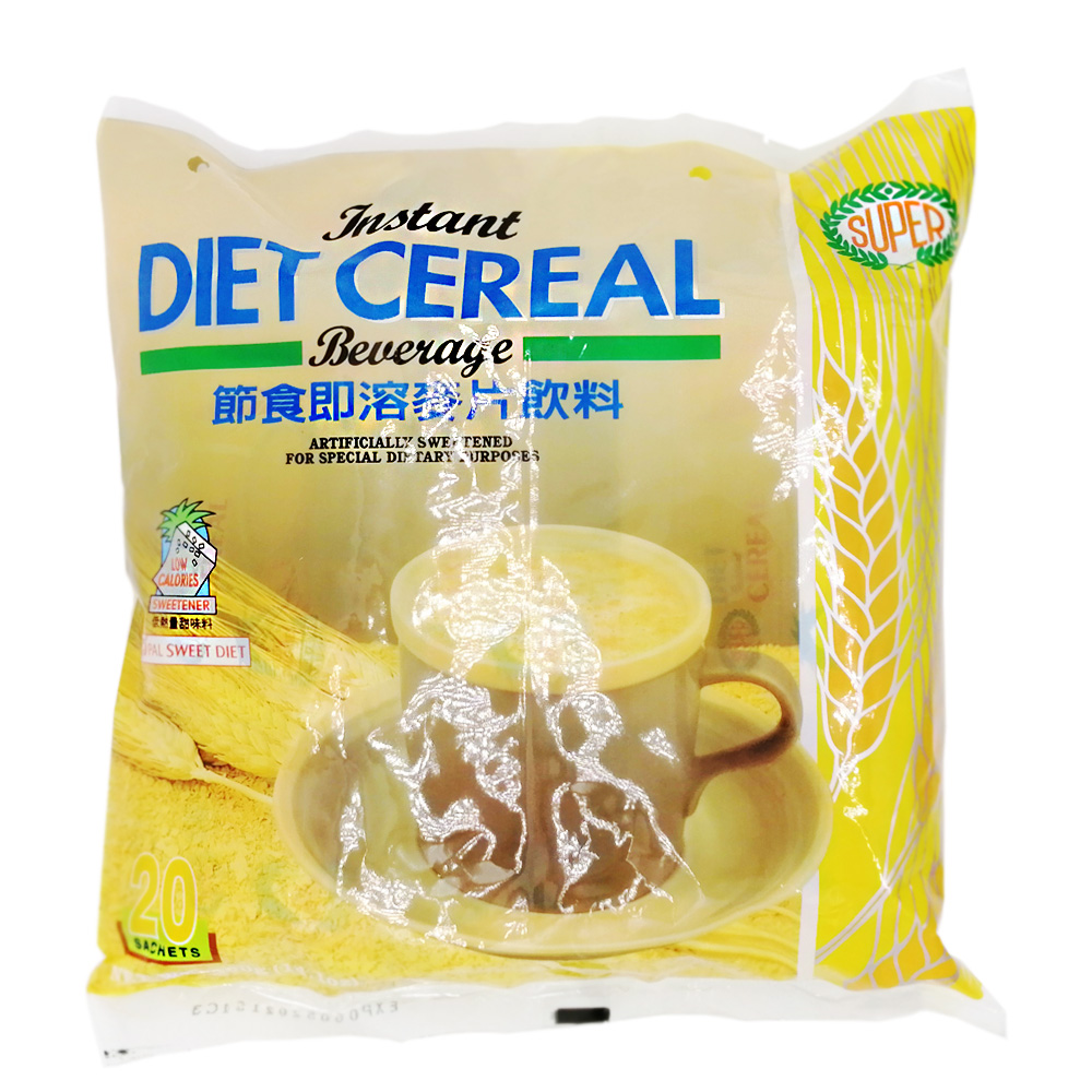 Super Instant Diet Cereal 20's 400g