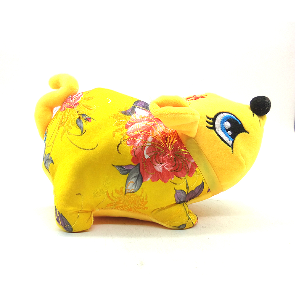 Chinese New Year Doll Mouse Character Pan Say Yite