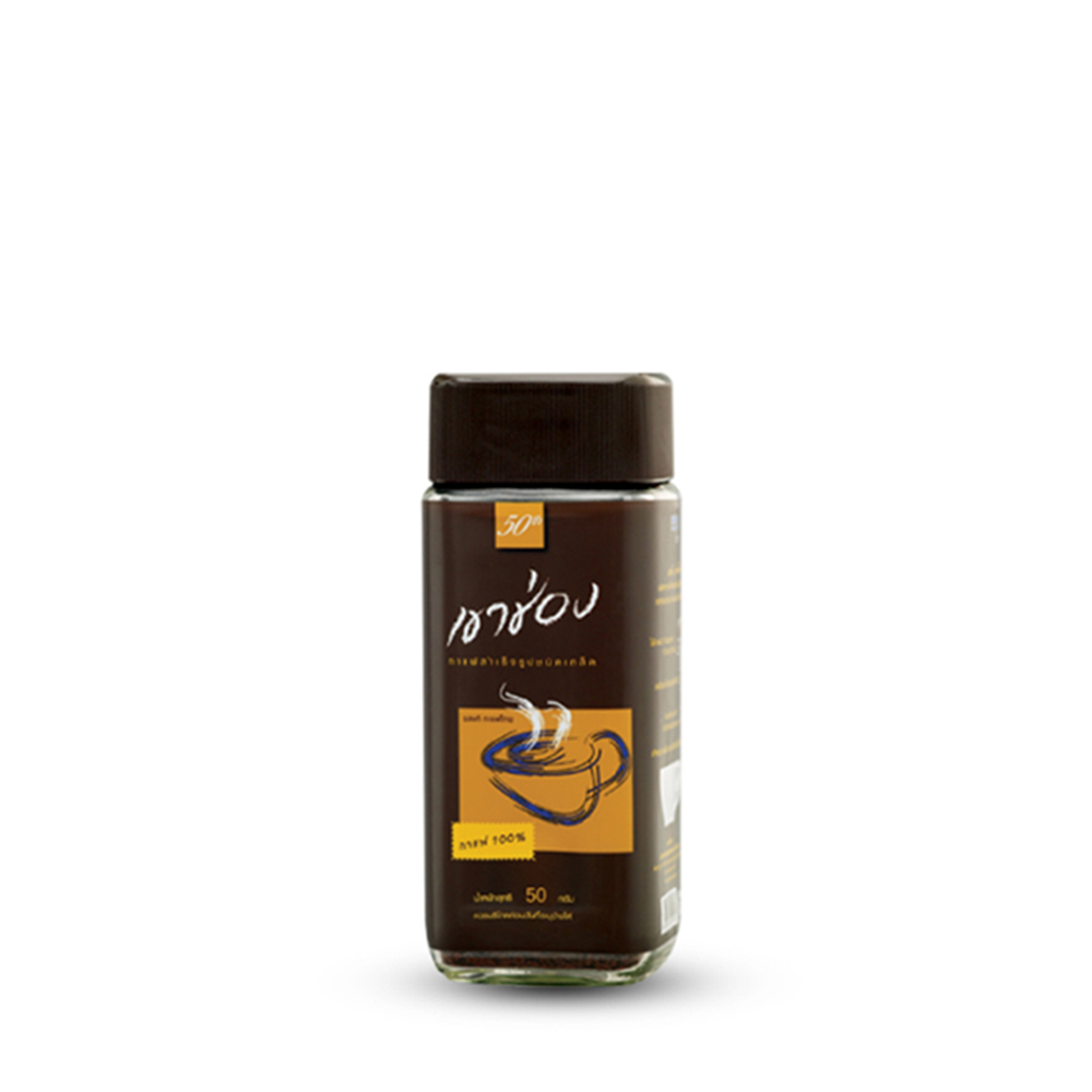 Khao Shong  Agglomerated Instant 100% Coffee 100g (Bot)