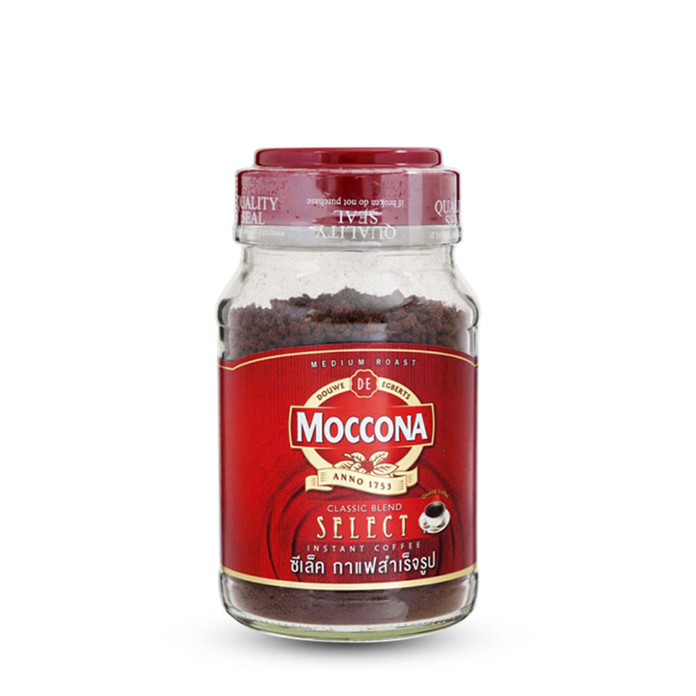 Moccona Instant Coffee Coffee Classic Blend Select 190g (Bot)