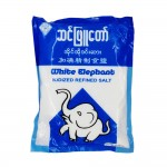 White Elephant Iodized Refined Salt 816.5g