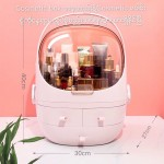 Easy Life Cosmetic Storage Box Oval Shape - Size-30x27x40cm