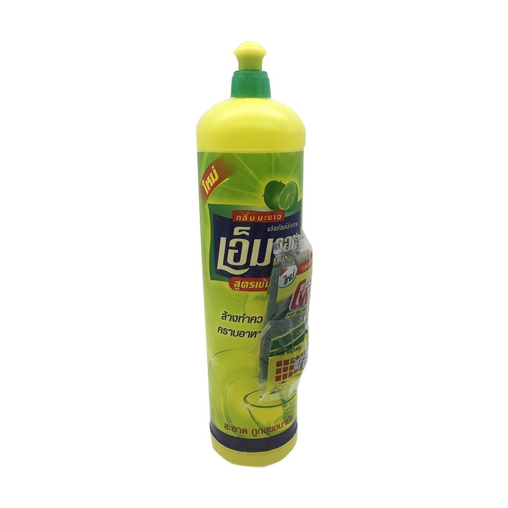 M-Wash Dishwashing Liquid Lemon Odor 700ml