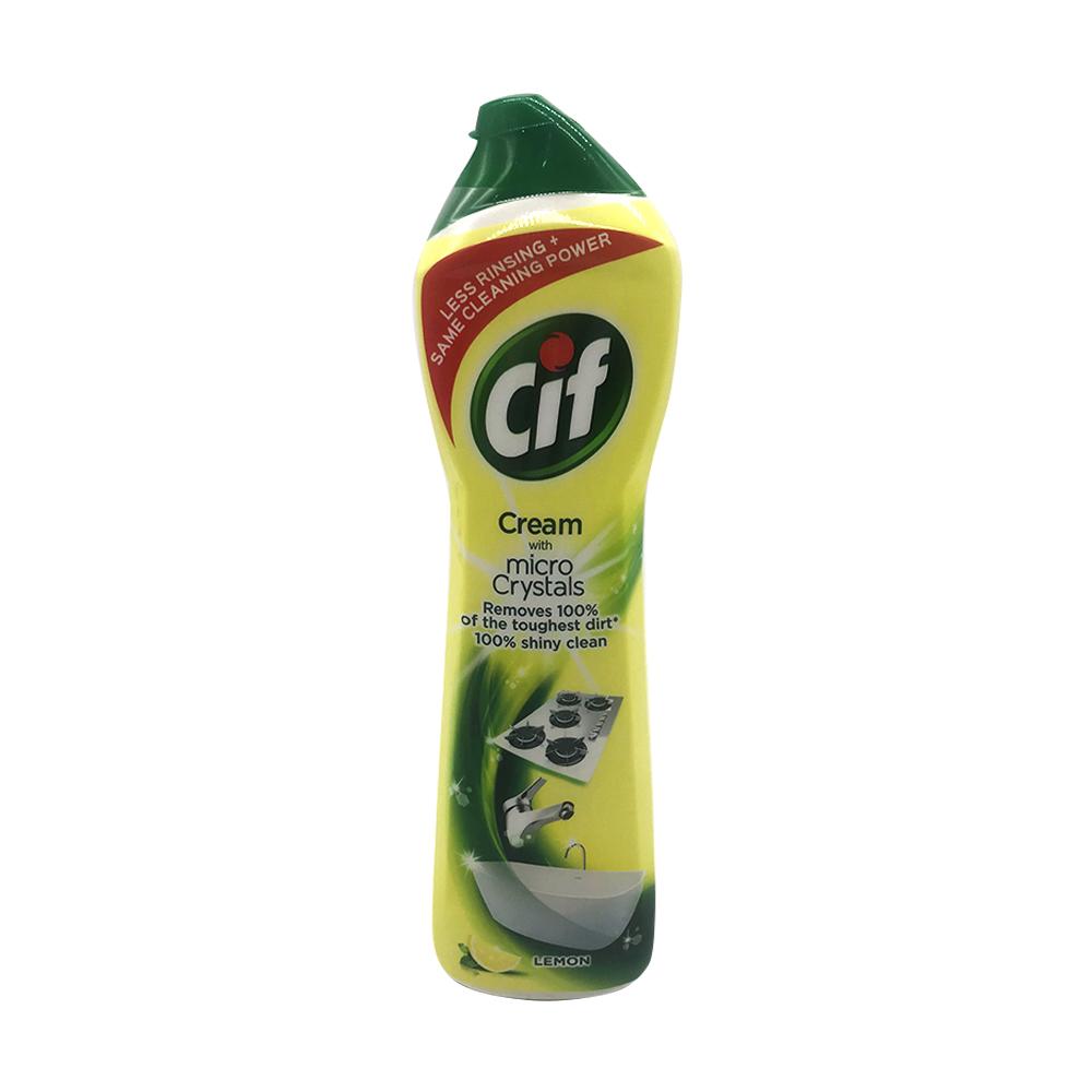 Cif Micro Crystals Cream Lemon 500ml
