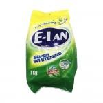 E-Lan Detergent Powder Super Whitening Stain Removal 1kg