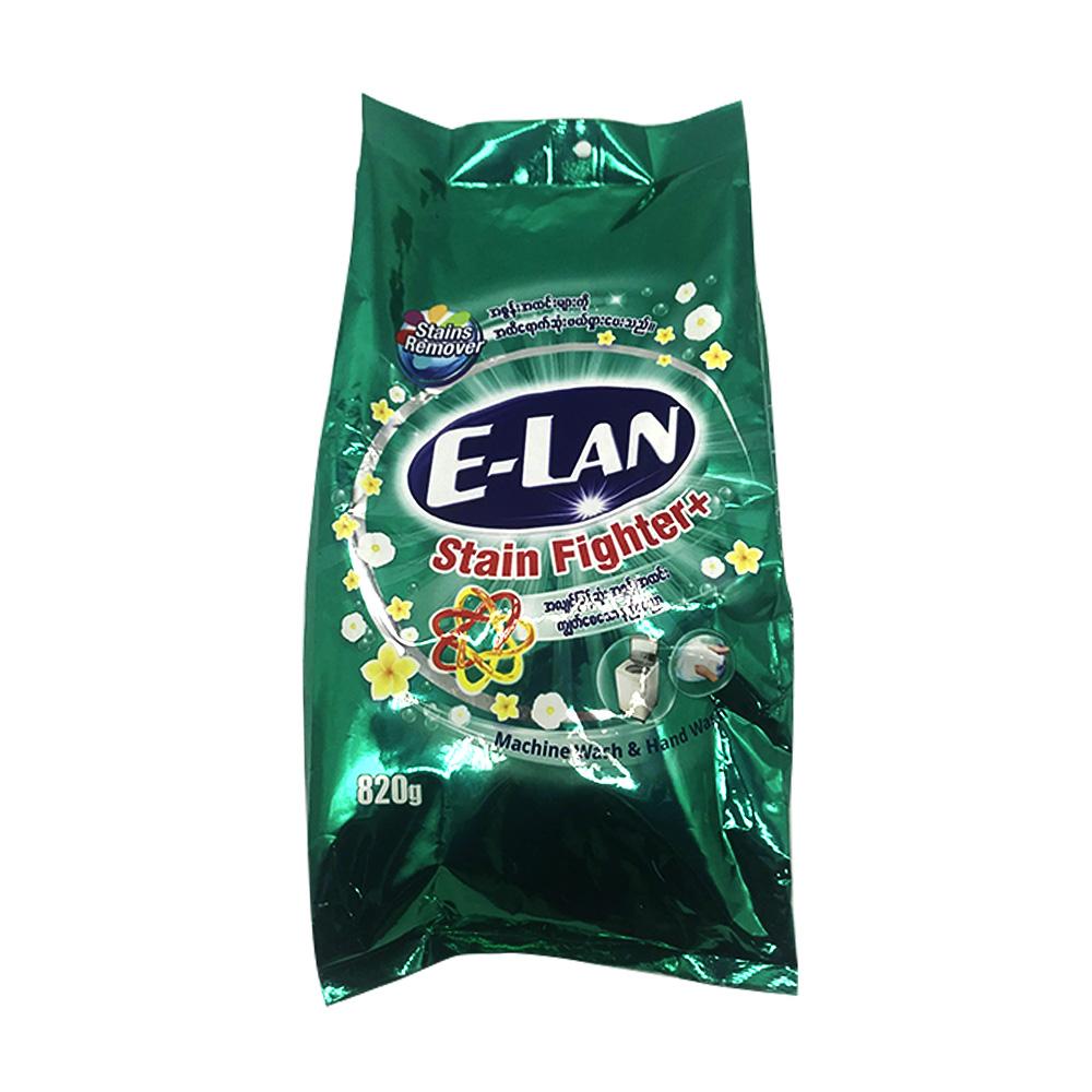 E-Lan Detergent Powder Stain Fighter Plus 820g