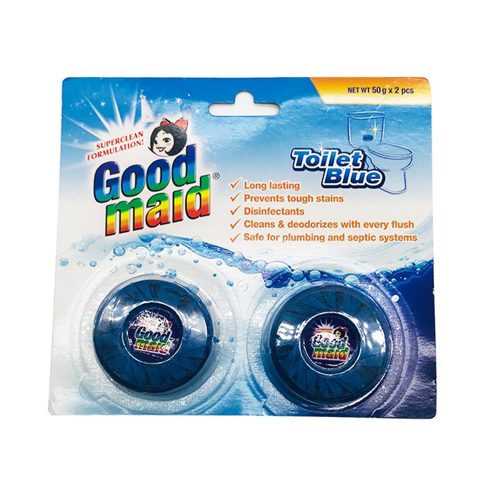 Good Maid Toilet Bowl Cleanser Blue 2's 100g