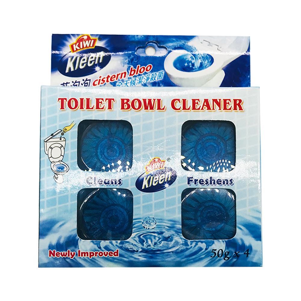 Kiwi Kjeen Toilet Bowl Cleanser 4's 200g